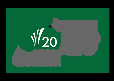 Logo ABT 20 aniversario - AgriBioTech México, semillas y productos innovadores para el campo de la más alta calidad